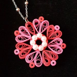Quilled.Pendant.Red.and.pink
